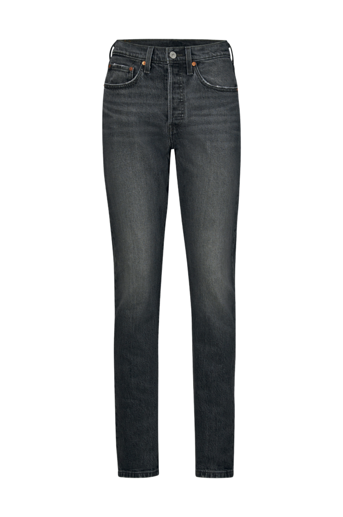 Levis Jeans 501 Skinny  Svart  Slim  Ellosse