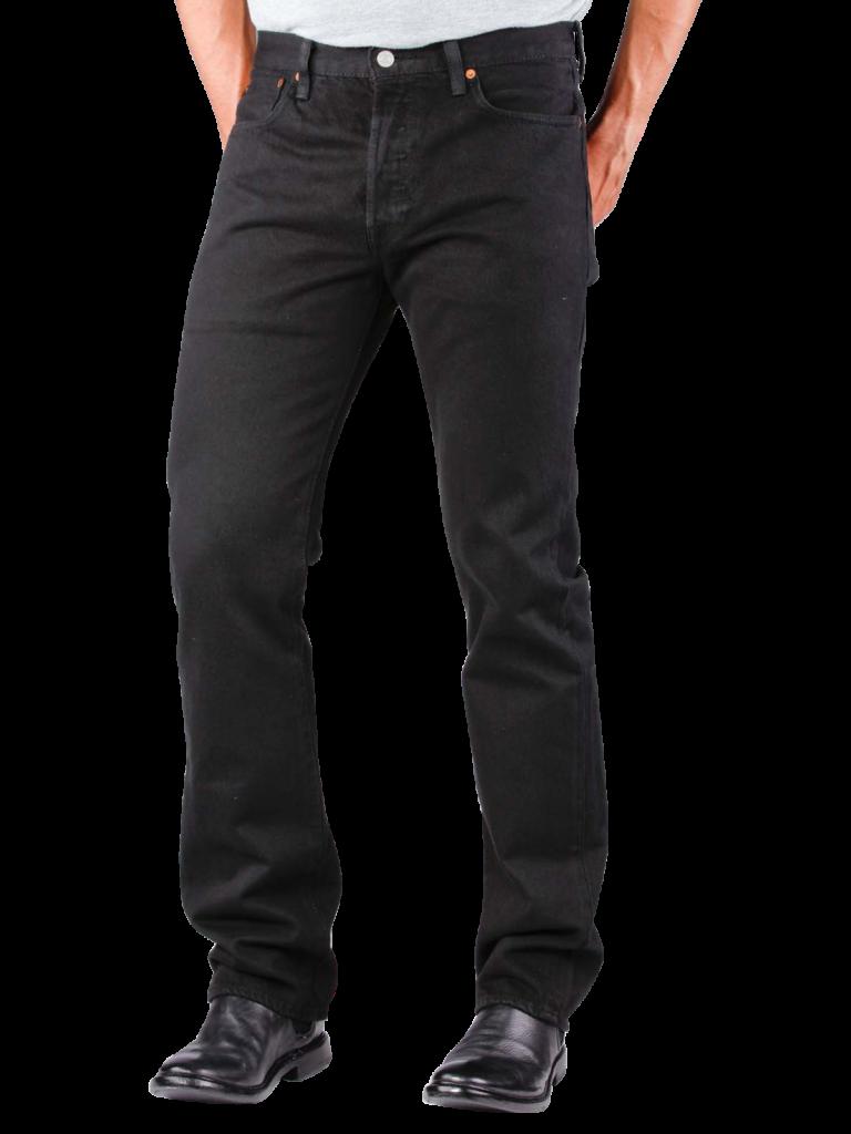 Levis 501 Jeans black  Gratis Lieferung  JEANSCH