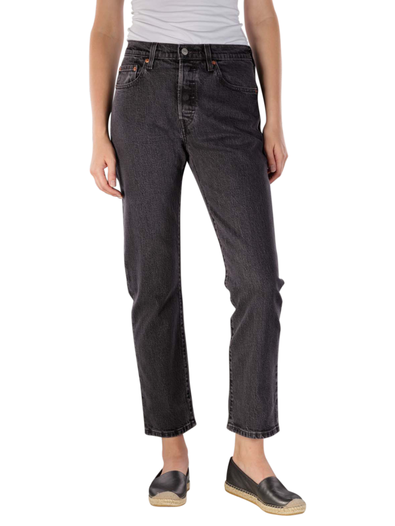 Levis 501 Cropped Jeans cabo fade  Gratis Lieferung