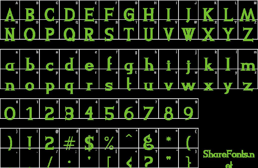 Download Free Font LeviStrauss