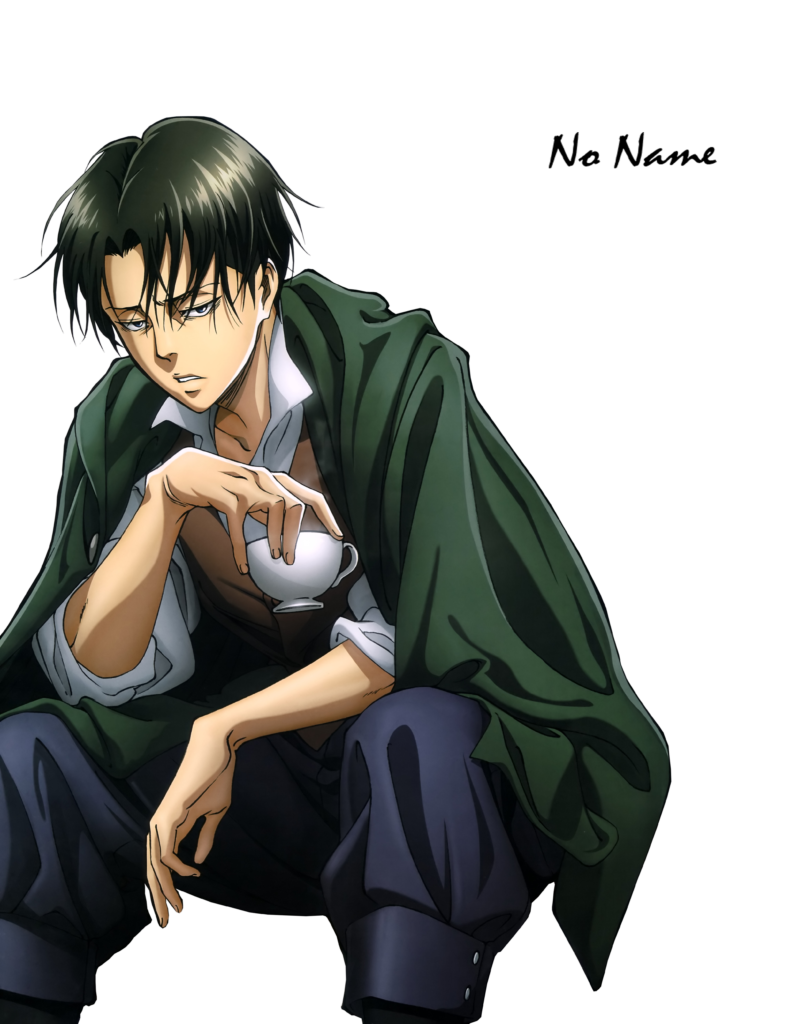 Levi Rivaille Render by NoName1999 on DeviantArt