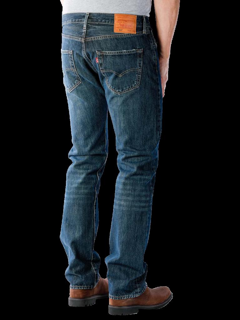 Levis 501 Jeans Straight snoot  Gratis Lieferung  JEANSCH