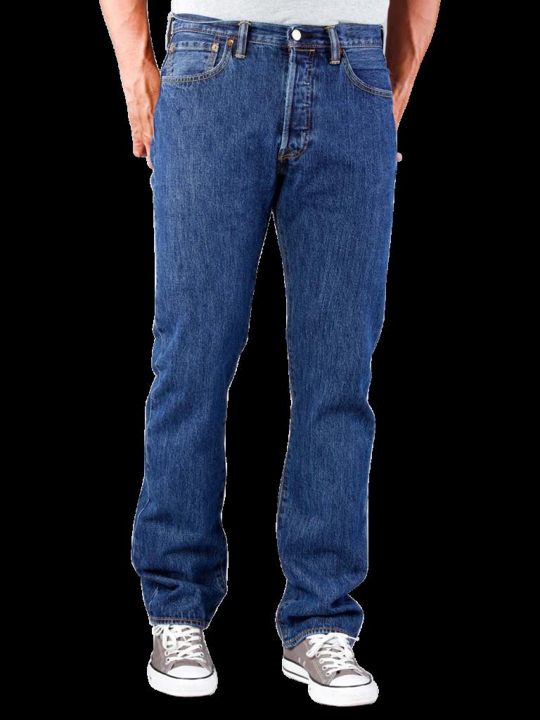 Levis 501 Jeans stonewash  Gratis Lieferung  JEANSCH