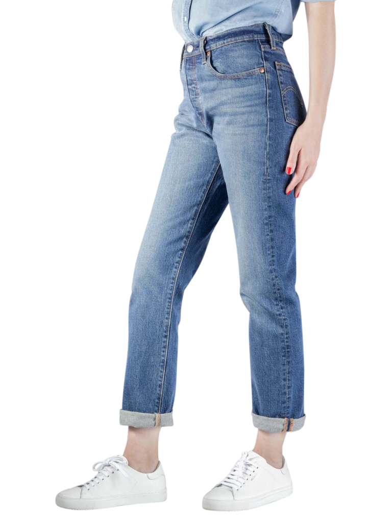 Levis 501 Original Jeans Cropped charleston all day