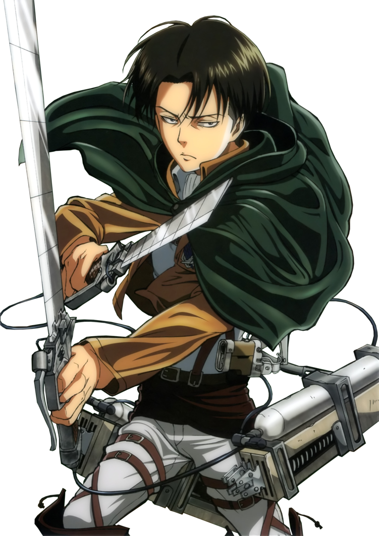 Shingeki no Kyojin Levi Png by bloomsama on deviantART ... - Levi and Hanji