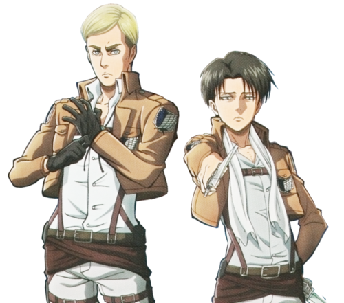 Erwin and Levi  Shingeki no Kyojin  Attack on Titan