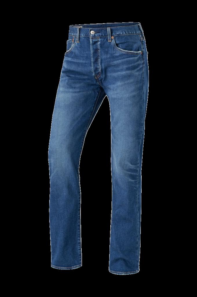 Levis Jeans 501 Levis Original  Blå  Straight  Ellosno