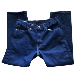 Levis 505 Mens Size W 36 x L 30 Dark Wash Straight Leg