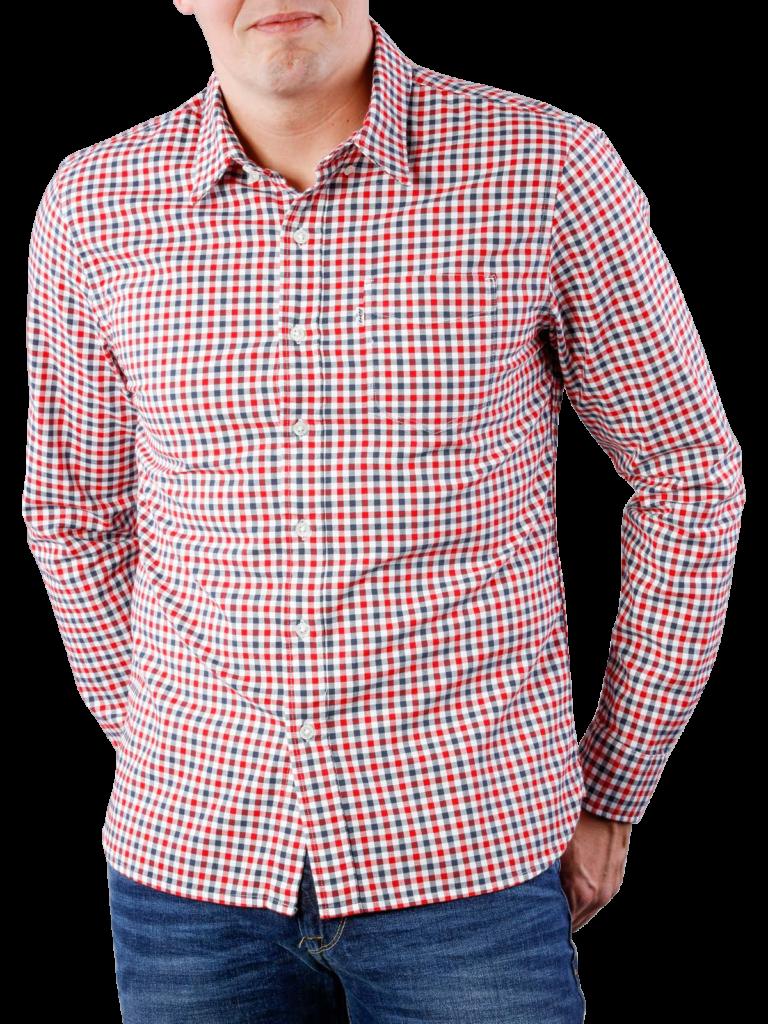 Levis Sunset 1 Pocket Shirt mentha  free shipping  JEANSCH