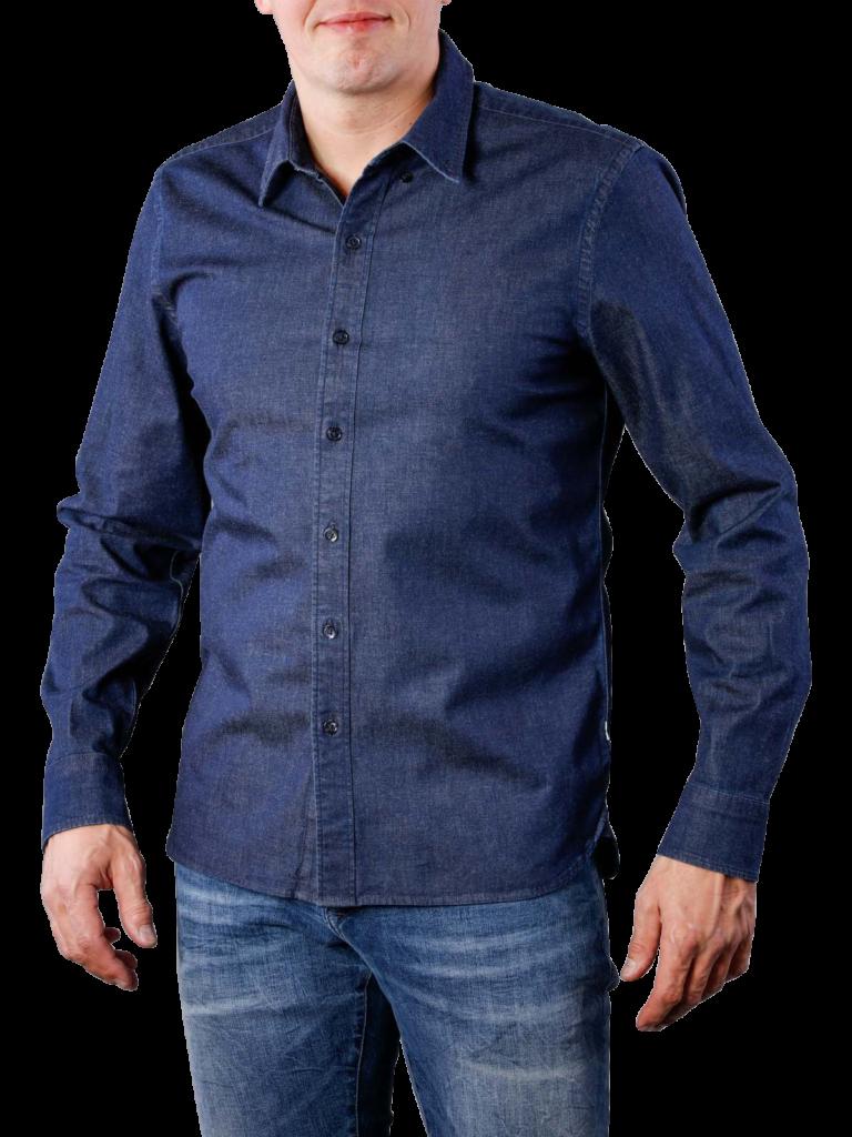 Levis LS Pacific Shirt stretch denim  free shipping