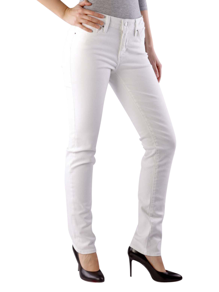 Levis 712 Jeans Slim western white  free shipping  JEANSCH
