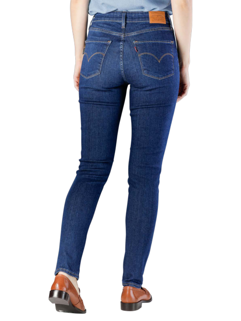 Levis 721 High Rise Skinny Jeans out on a limb  free