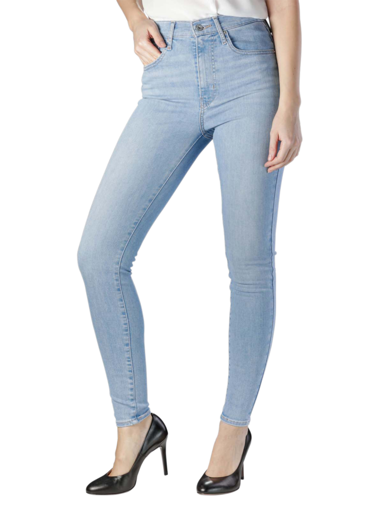 Levis Mile High Super Skinny between space and time