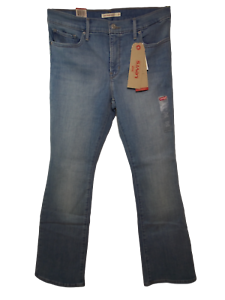 LEVIS Womens 315 Shaping Bootcut Denim Jeans  Light
