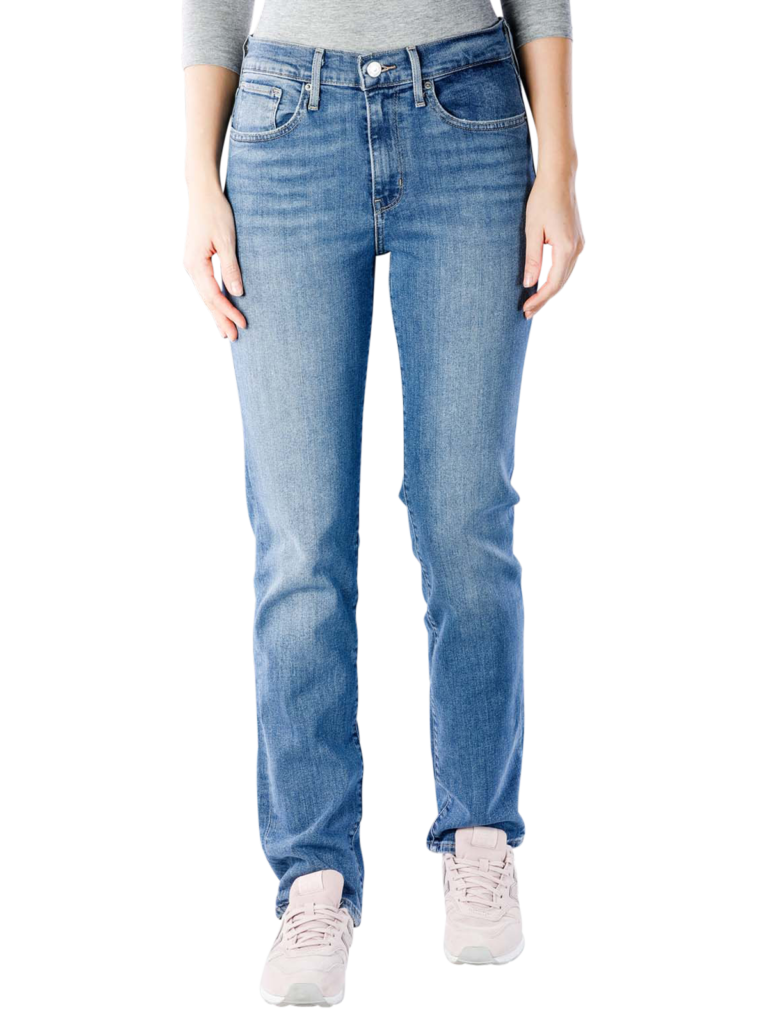 Levis 724 Jeans Straight High Rise second  free shipping