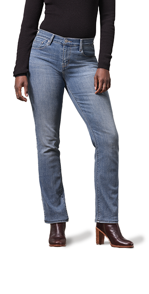 Jeans bootcut mujer
