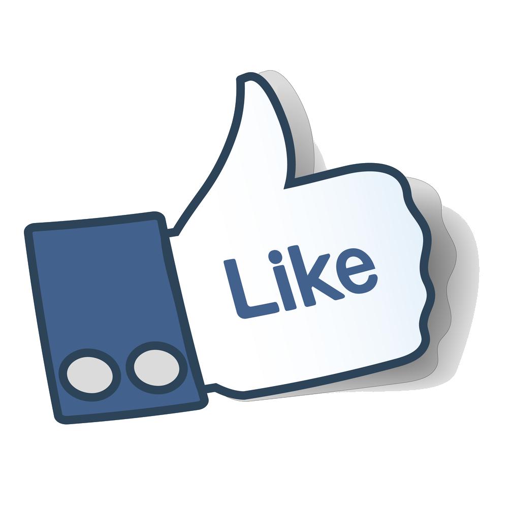 Facebook like button Thumb signal Symbol Clip art