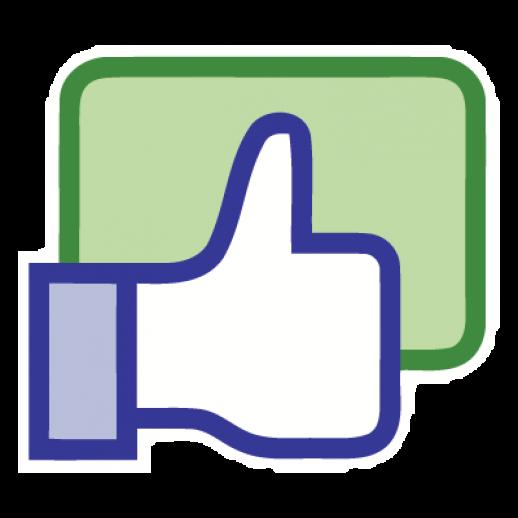 Facebook like button logo Vector  EPS  Free Graphics