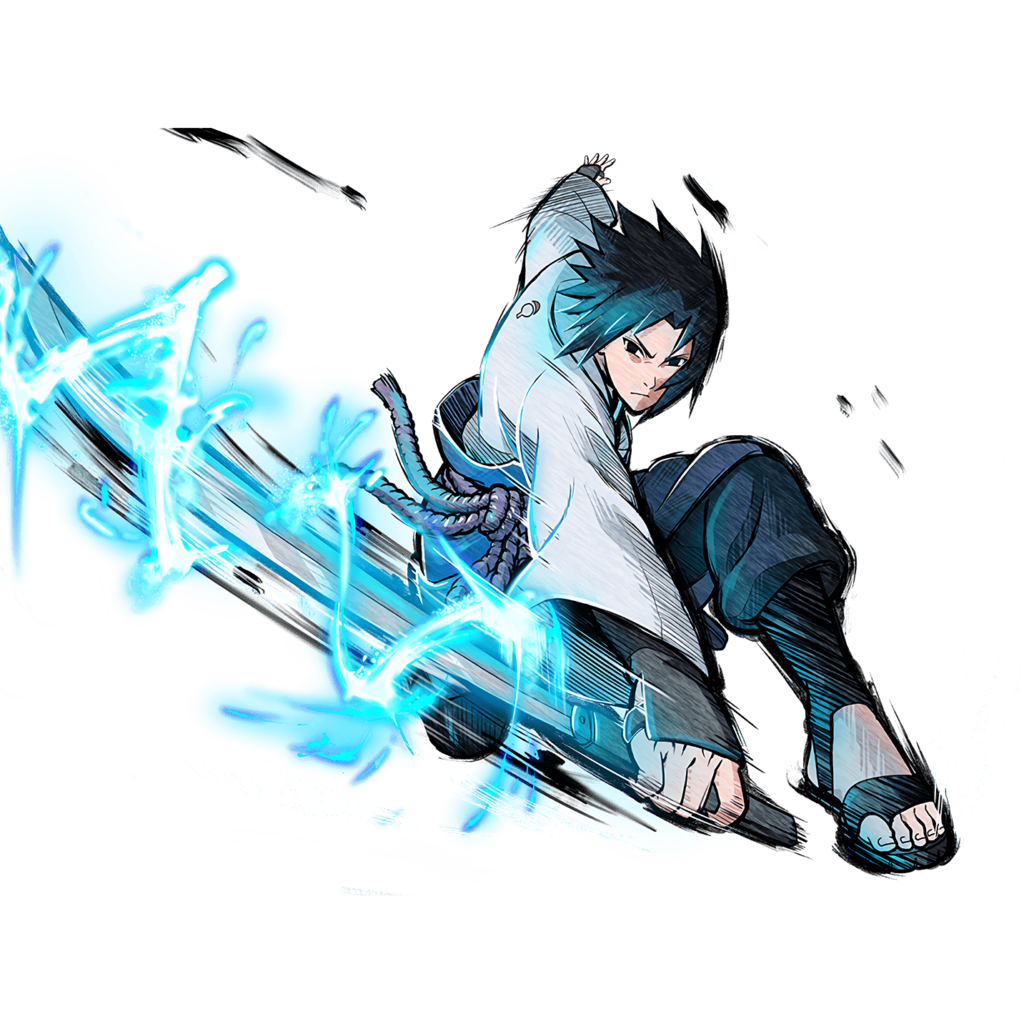 Sasuke Hebi render 2 NxB Ninja Tribes by maxiuchiha22