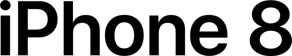 FileIPhone 8 Wordmarksvg  Wikimedia Commons