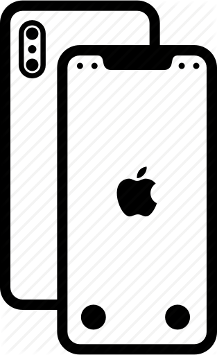 Library of iphone x logo clip transparent stock png files