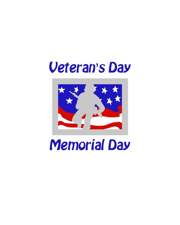 Veterans DayMemorial Day soldier silhouette on fl TShirt
