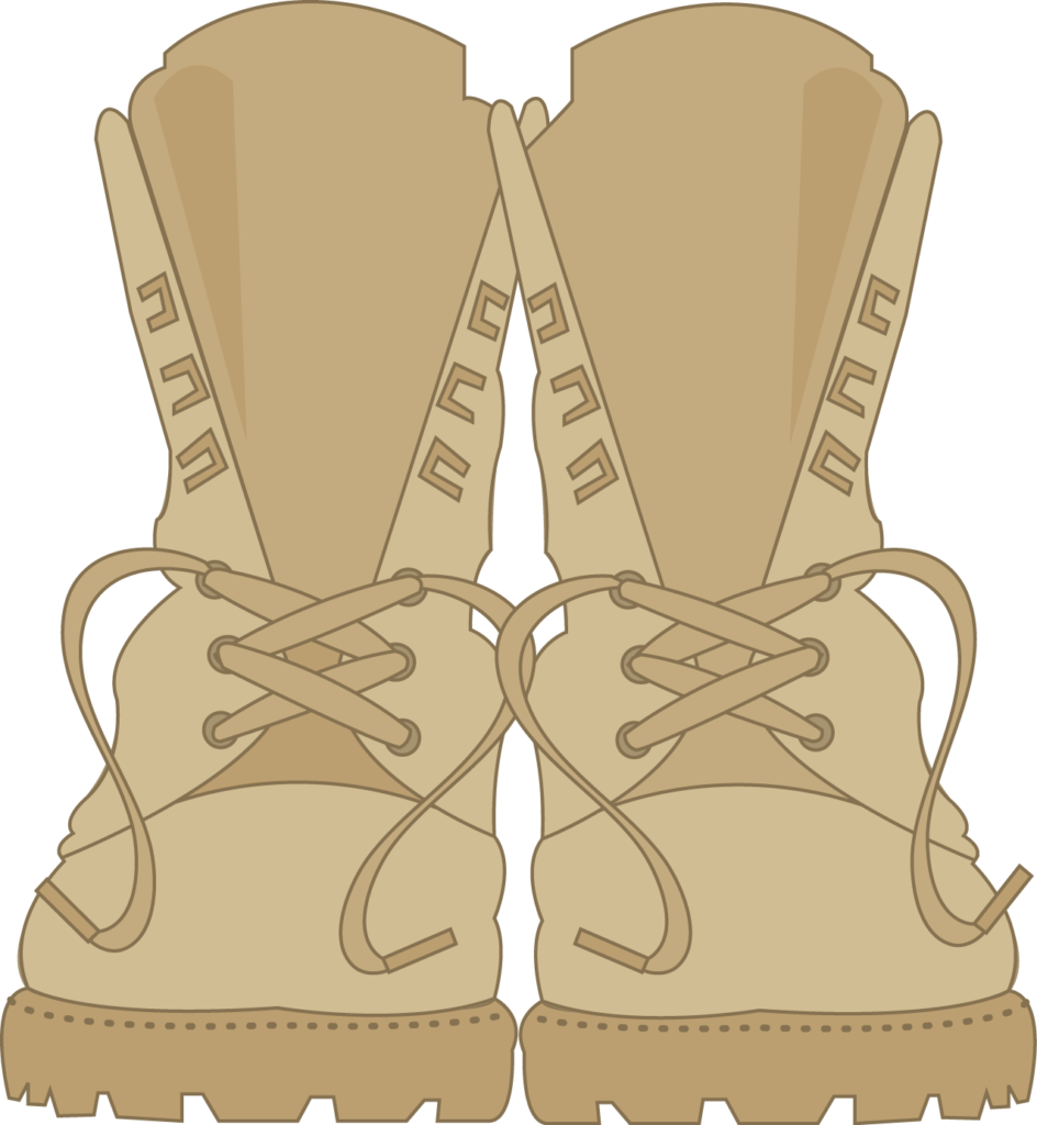 Exército  ITA7png  Minus  Army boots Boot clips
