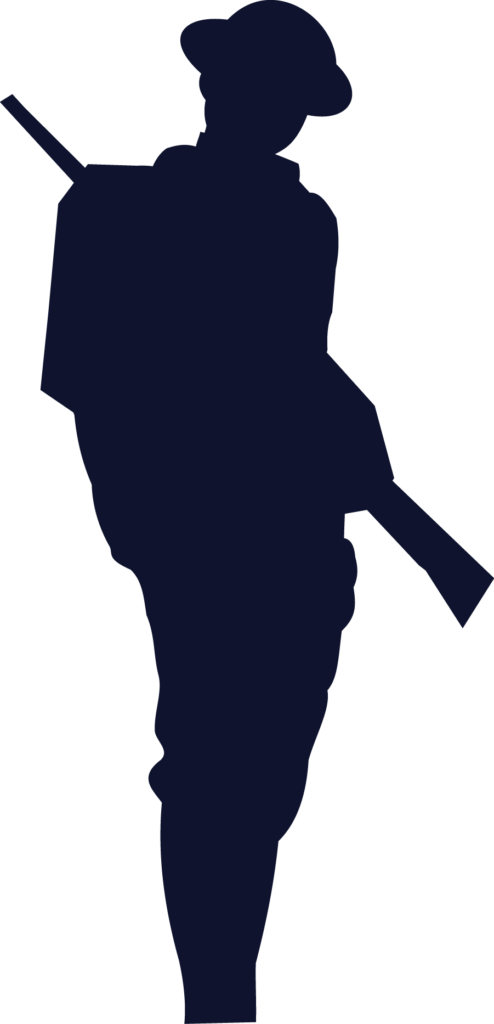 world war 1 clipart 12  Soldier silhouette Remembrance