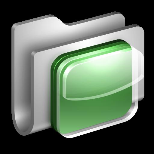 3D Folder IOS White Icon PNG ClipArt Image  IconBugcom