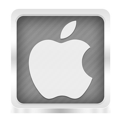 Apple Icon  Boxed Metal Icons  SoftIconscom