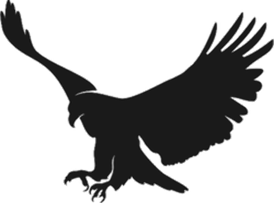 Download High Quality american eagle logo silhouette ... - Mexican Eagle Silhouette