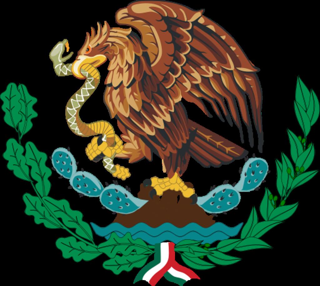 Mexico Flag Emblem Flag Wallpapers HD  Mexican eagle