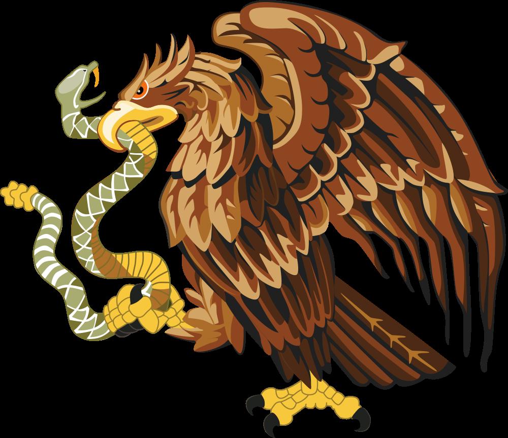 OnlineLabels Clip Art  Golden Eagle With Snake