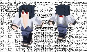 Sasuke Modern Skin  Minecraft Skins