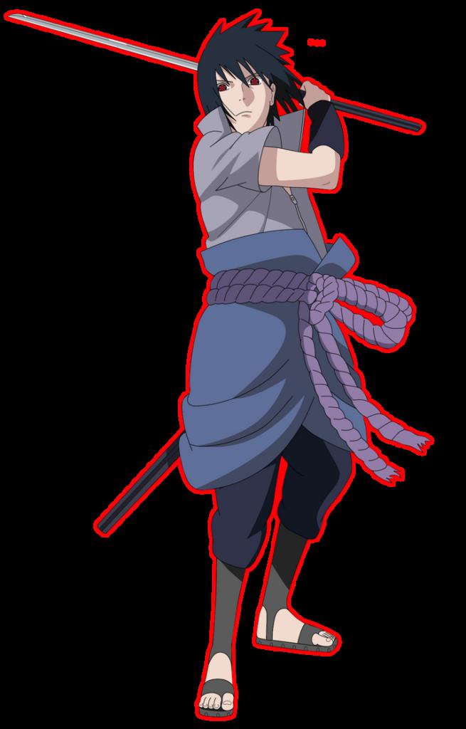 Sasuke Uchiha Render by lBackFromTheDeadl on DeviantArt