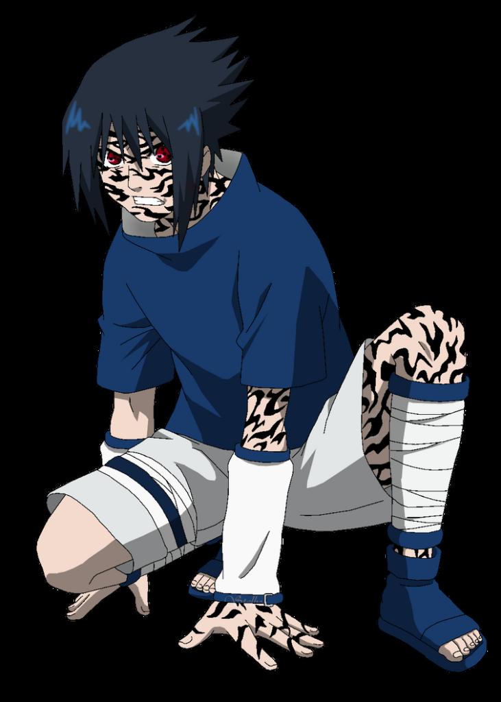 Uchiha Sasuke PTS  Lineart Colored by DennisStelly on