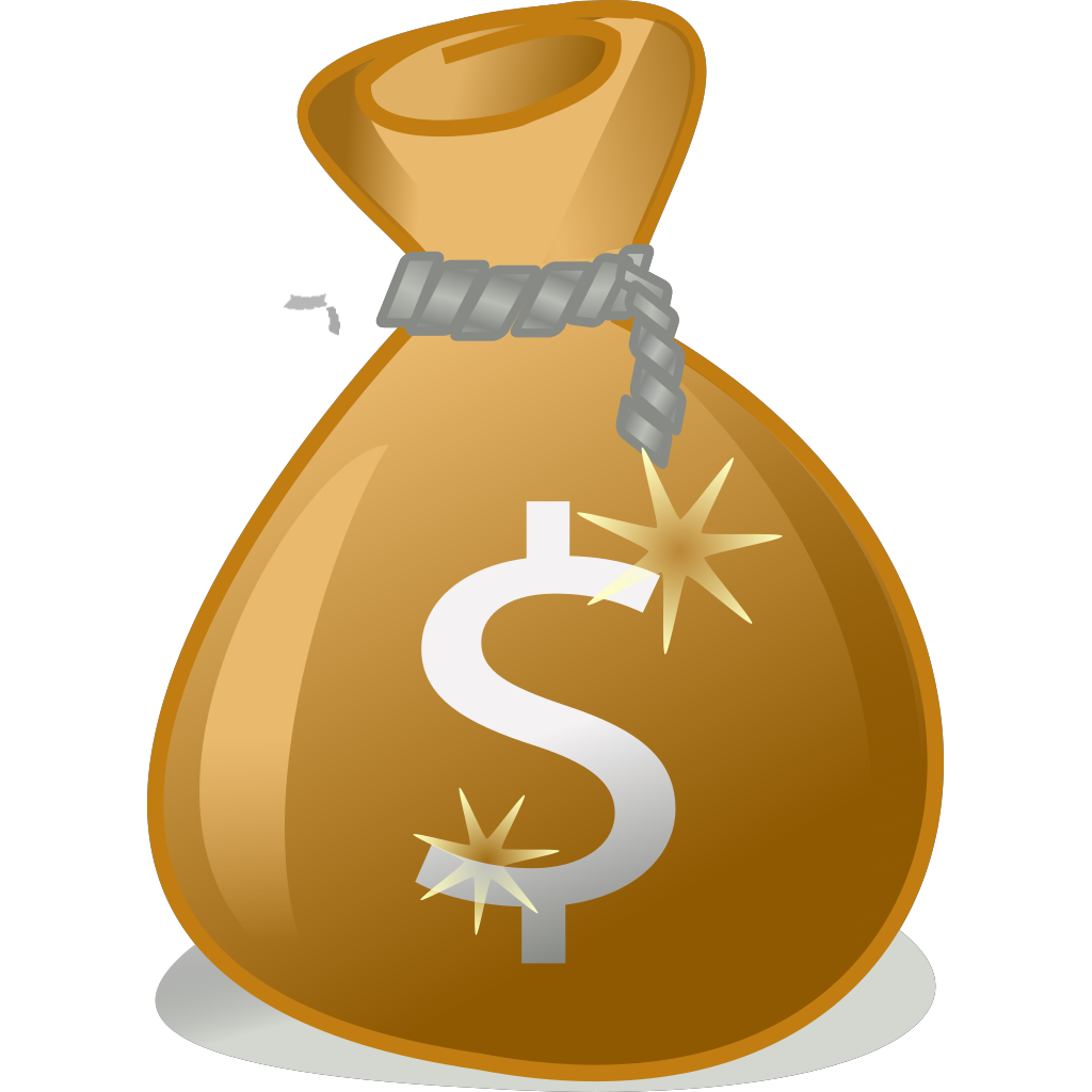 Money Bag PNG SVG Clip art for Web  Download Clip Art