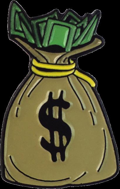 Cartoon Money Bags  Transparent Cartoon Money Bag Clipart