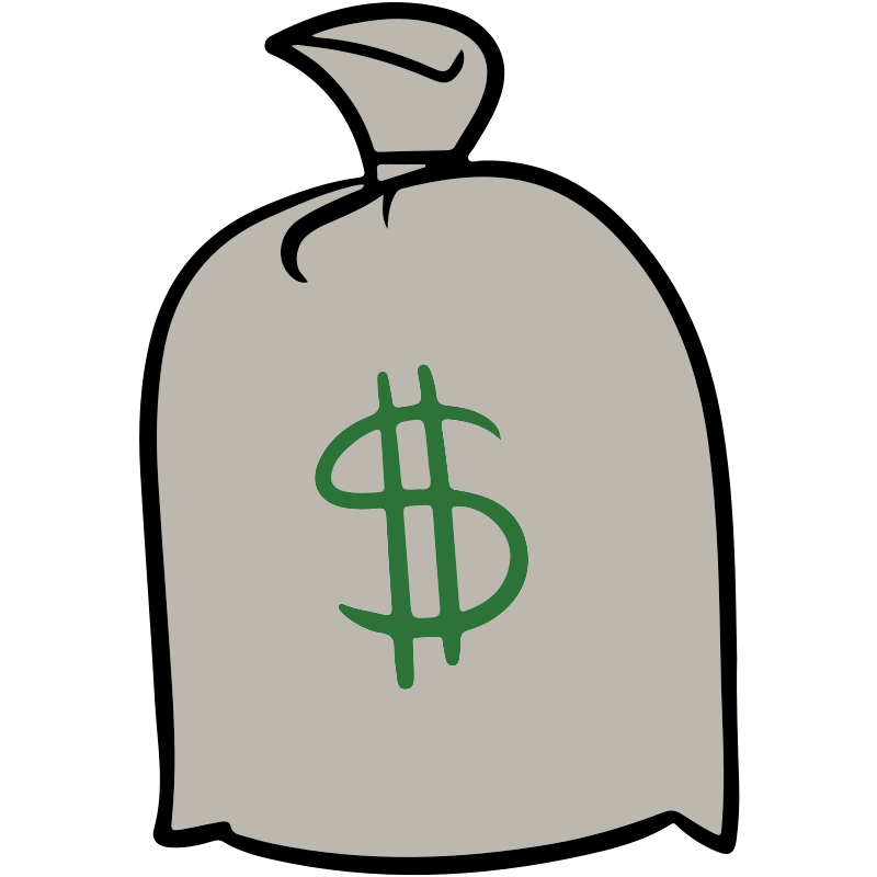 Bag Of Money Clipart  Free download on ClipArtMag