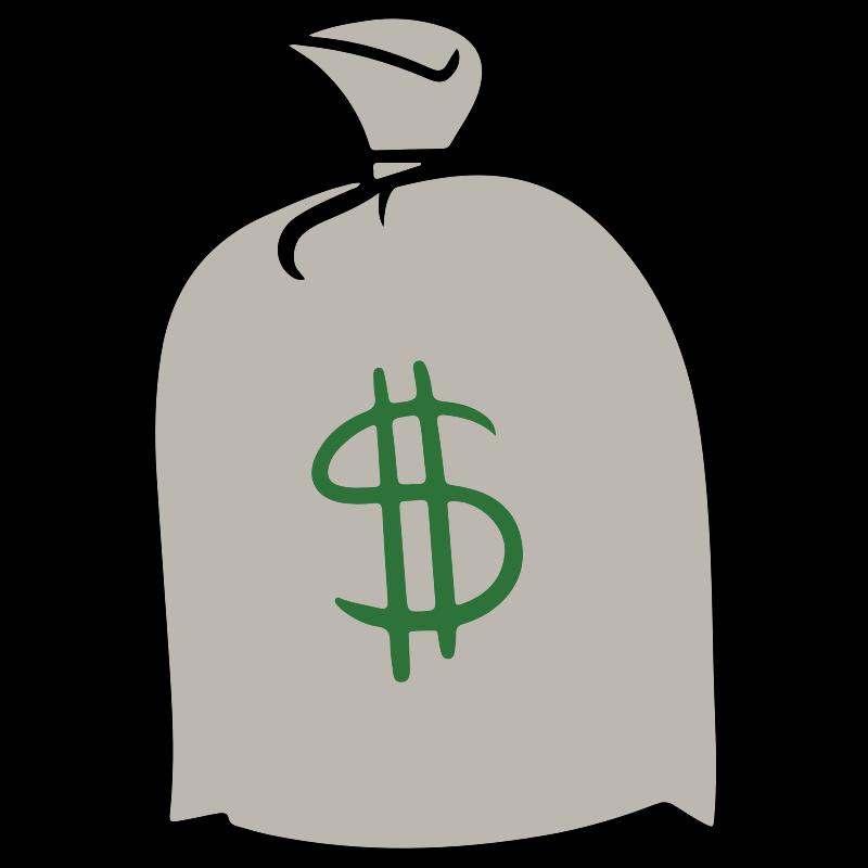 Free Clipart Cash Bag  casino