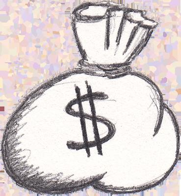 Cartoon Money Bag  ClipArt Best