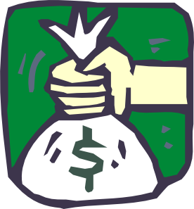 Money Bag Icon clip art 117532 Free SVG Download  4 Vector