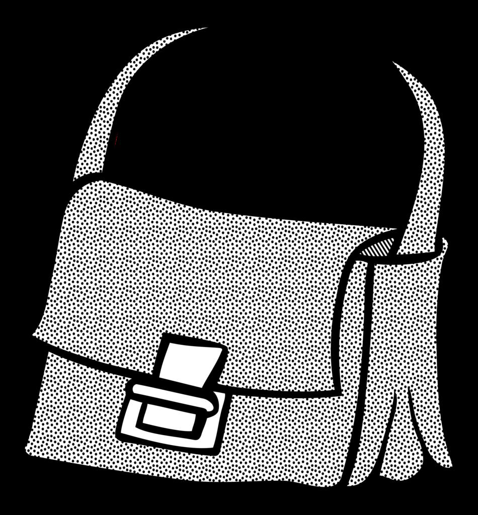 Outline clipart purse Outline purse Transparent FREE for
