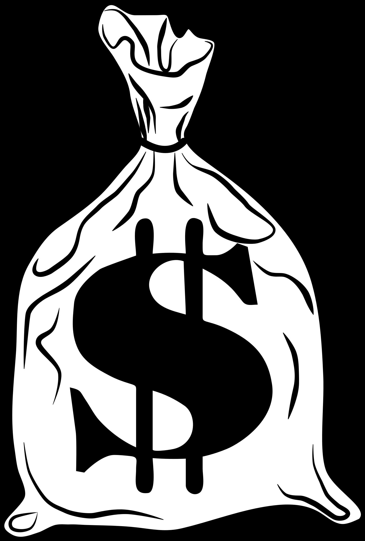 Bag Bank Clip Art Transprent Png Free - Money Bag Clipart ... - Money Bag Outline