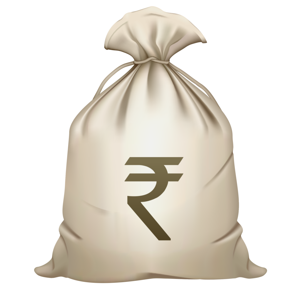 Money Bag Rupee Sign PNG Image Free Download searchpngcom