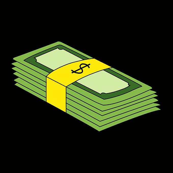 Top Stacks Of Money Drawing  Perkins Blog