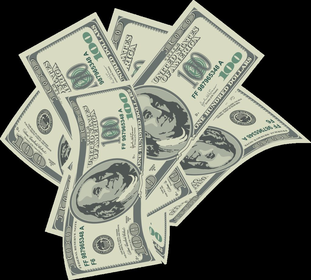 Dollars money clipart  Clipground