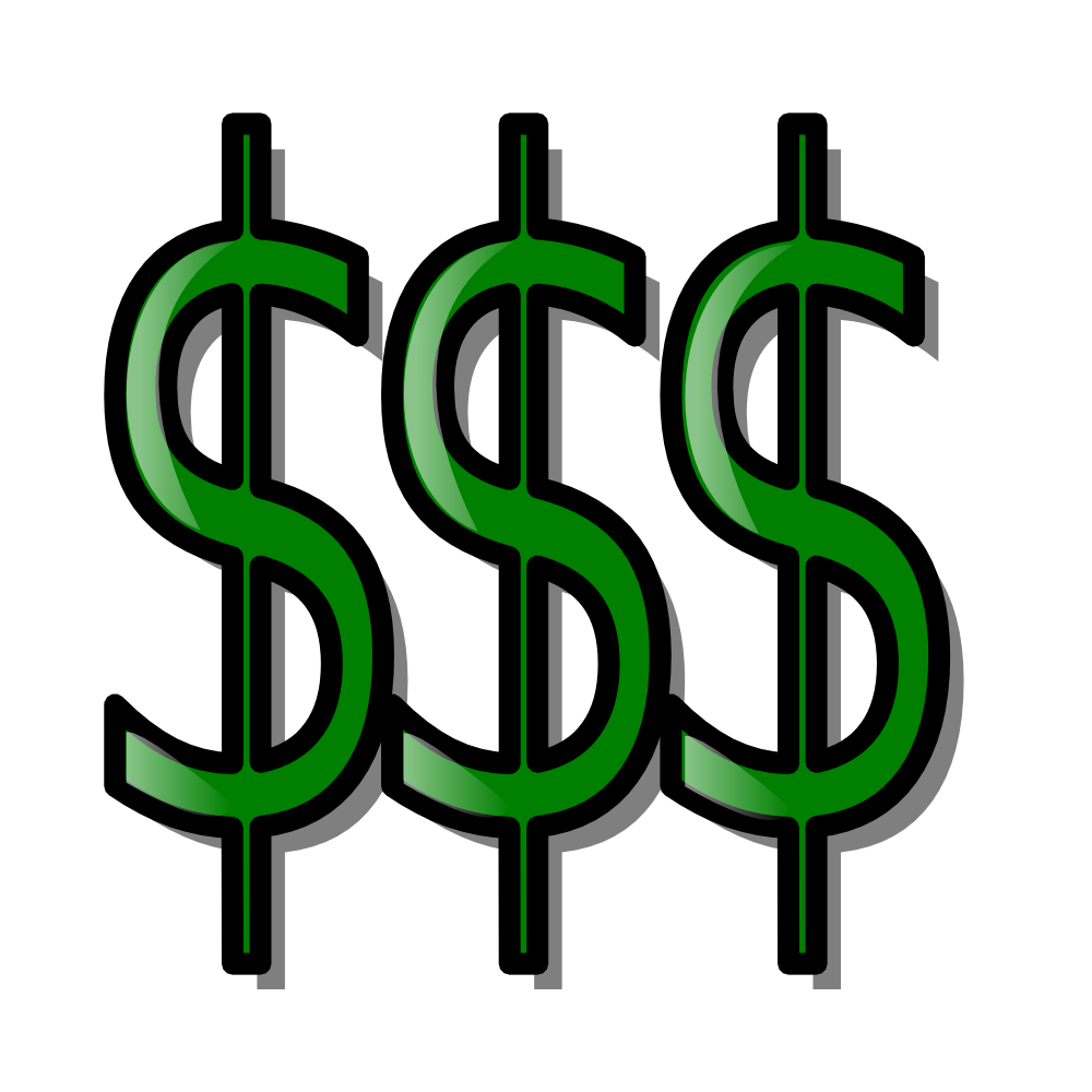 OnlineLabels Clip Art  Money