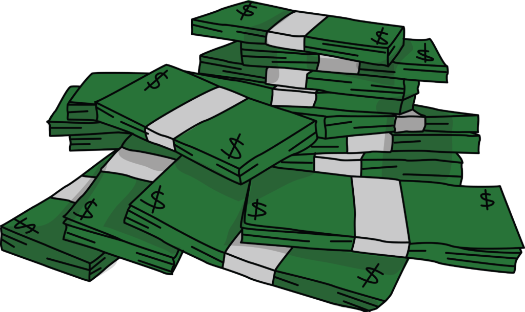 Clipart money stack Clipart money stack Transparent FREE