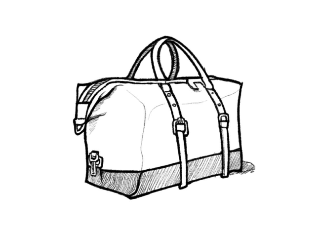 Glade ICT 40 Most Popular Duffle Bag Sketches